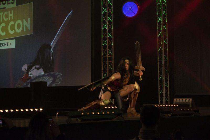 Dutch Comic Con 2019 cosplay wedstrijd Wonder Woman