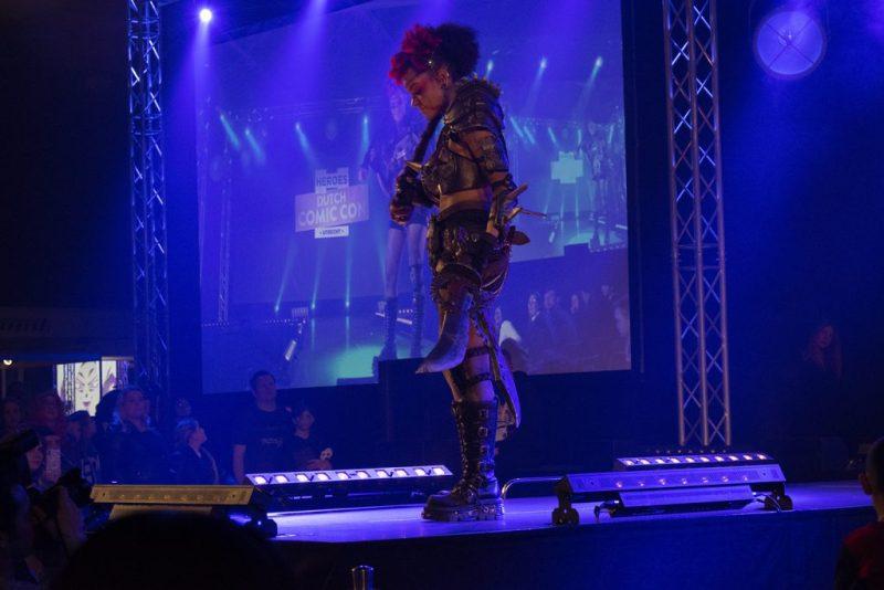 DCC  cosplay wedstrijd