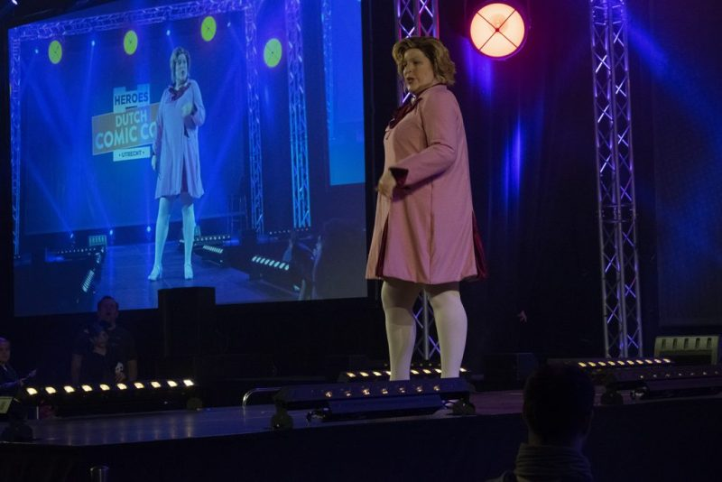 Dutch Comic Con 2019 cosplay wedstrijd Dolores Umbridge all about the rules