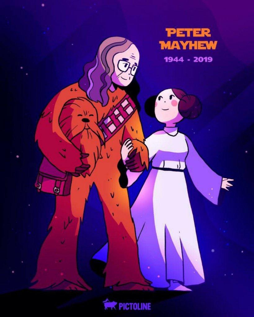 Star Wars acteur Peter Mayhew overleden