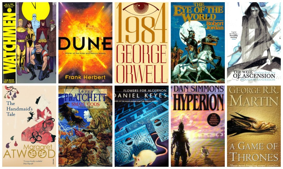 Best MUST READ Science Fiction Fantasy Books   The Geekiverse If you are a science fiction  or fantasy fan  you no doubt have your list  of the absolute best books of all times  Help us put together that list