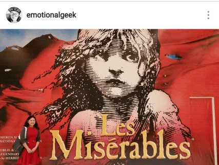 Les Miserables in Manila #pawprintingplaces