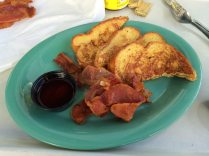French Toast was awesome and the bacon was the best.