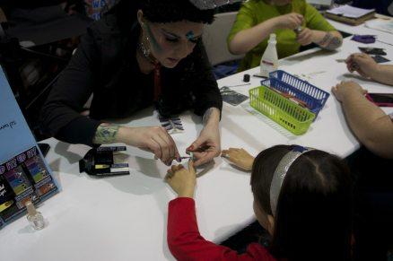 Mini manicure from Espionage Cosmetics.