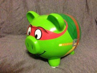 This little piggy is mine!!  Image: Dakster Sullivan