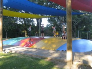 Campgrounds often feature amazing play areas. Photo: Fran Wilde.