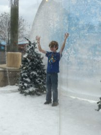 Fun snow globe picture area. Pics from the photographer are rather expensive though. Image: Dakster Sullivan