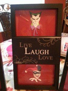 Live Laugh Love  Image: Charles Thurston