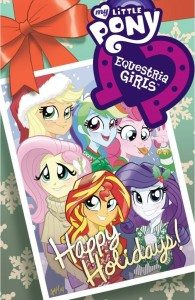 MLP Equestria Girls Holiday Issue  Image: ComiXology