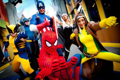 Marvel Super Heros!  Photo Courtesy: Universal Orlando Resort