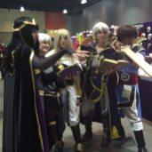Fire Emblem cosplayers.