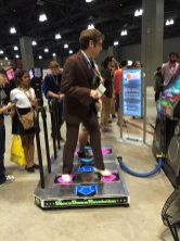 The Doctor Dancing. Photo by Corrina Lawson