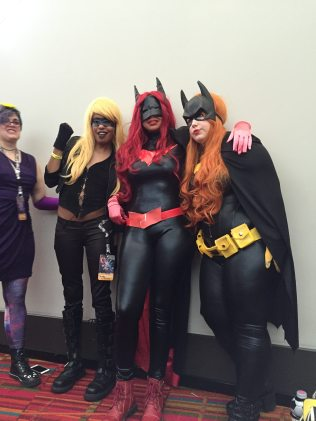 Batgirls and Canary!