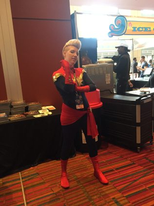 Captain Marvel. The Carol Corps was well represented.