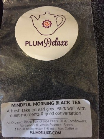 Plum tea, photo by Corrina Lawson