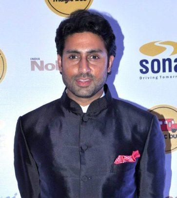 Abhishek Bachchan, looking poetic (Image Source: Bollywood Hungama)