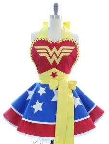 Wonder Woman via Bambino Amore on Etsy.