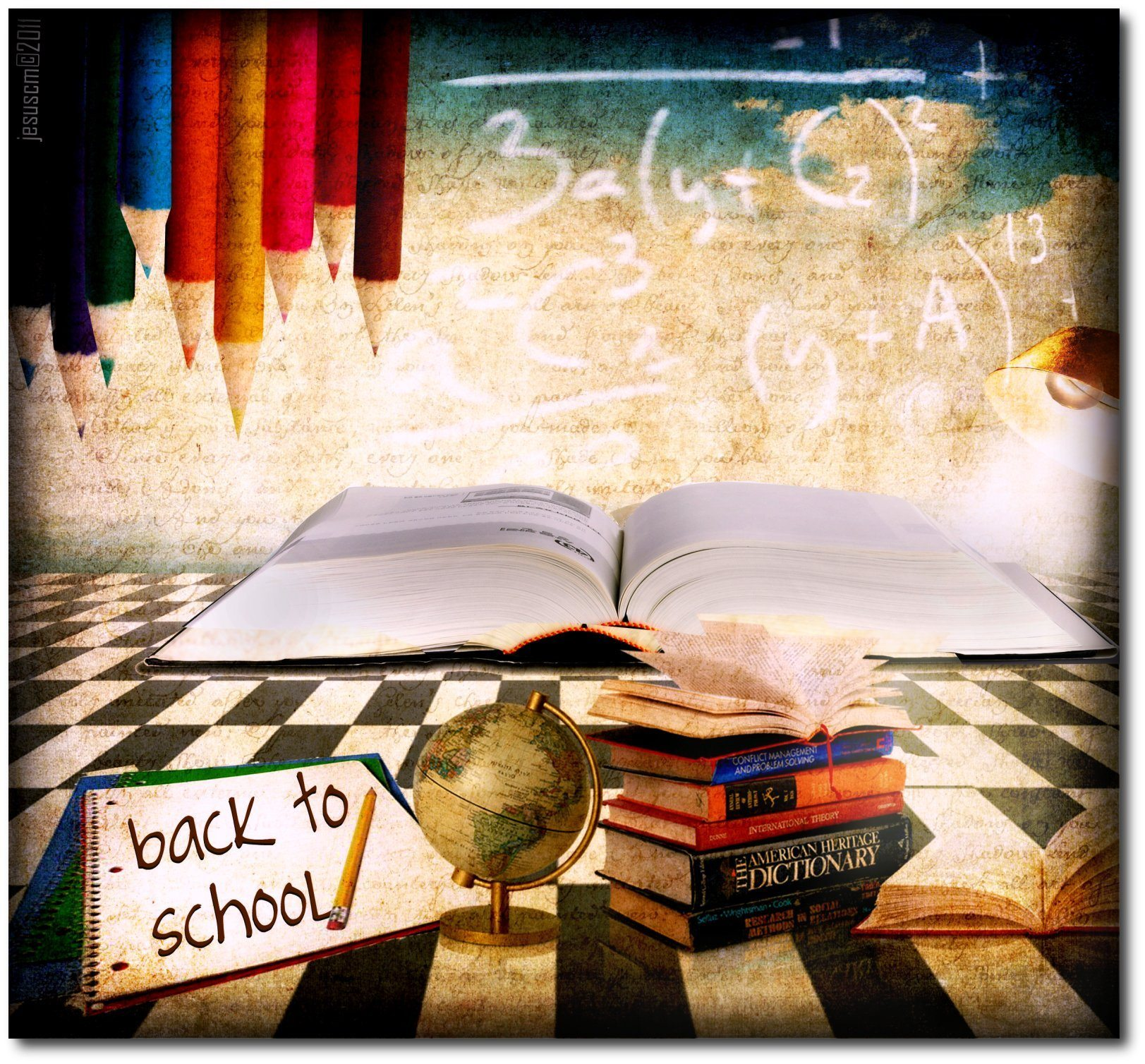 Back to School  Image: flickr user Jesuscm some rights reserved