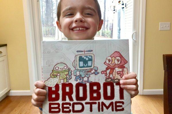 Brobot Bedtime will Delight Little Robot Fans!   Caitlin Fitzpatrick Curley, GeekMom