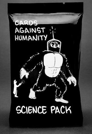 Cards Against Humanity Science Pack  Image: Cards Against Humanity