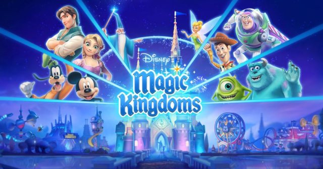 Disney Magic Kingdoms Logo  Image by Gameloft