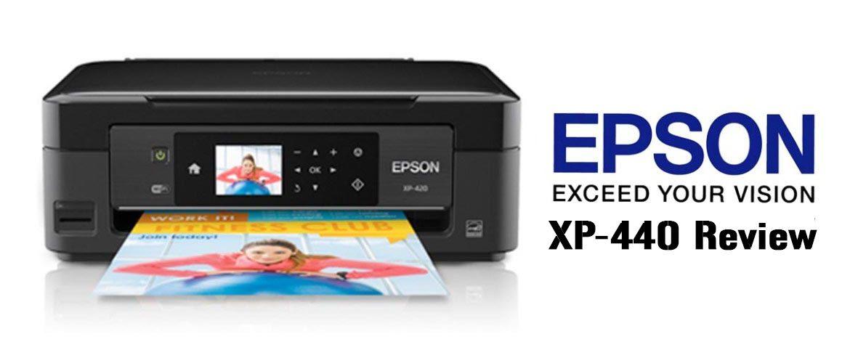 Epson XP-440  Image: Dakster Sullivan