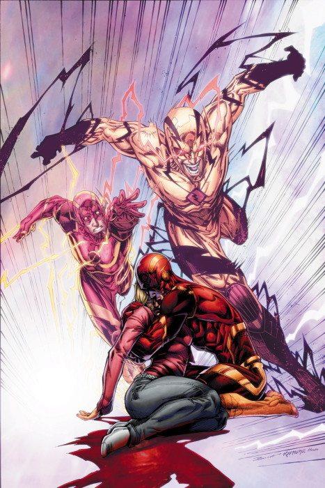 Flash #47. a good representation of the art inside. Image via DC Comics