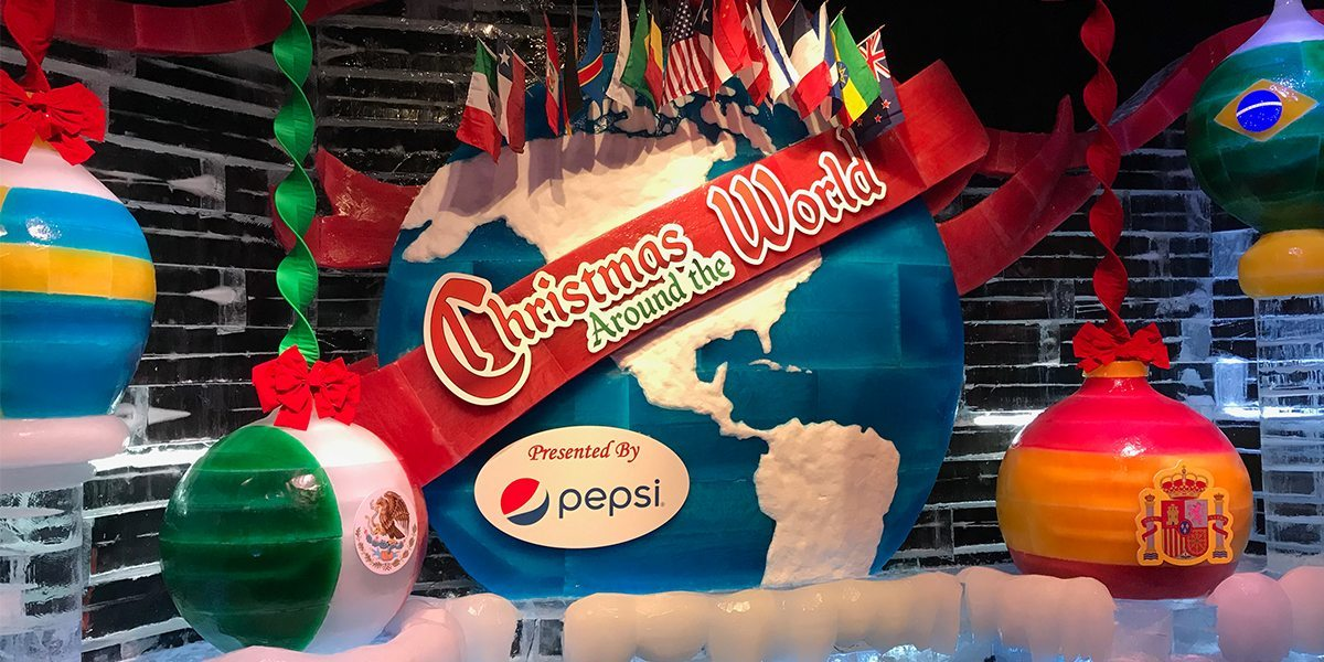 Gaylord Palms ICE! Featuring Holidays Around the World!  Image: Dakster Sullivan