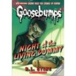 The Goosebumps series by R.L. Stein