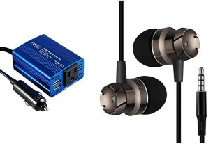 Geek Daily Deals power inverter cheap earbuds