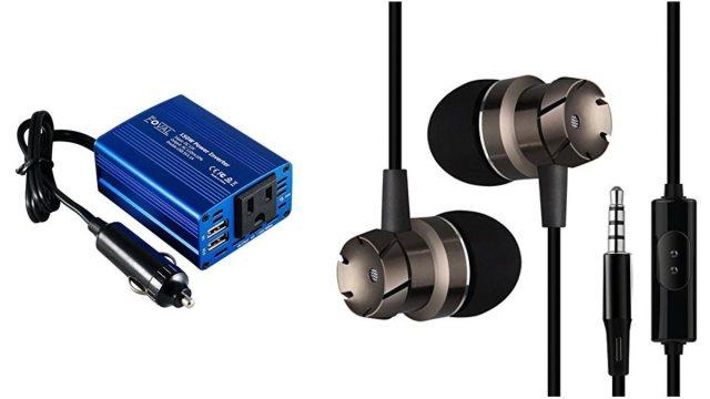 Geek Daily Deals power inverter cheap earbuds