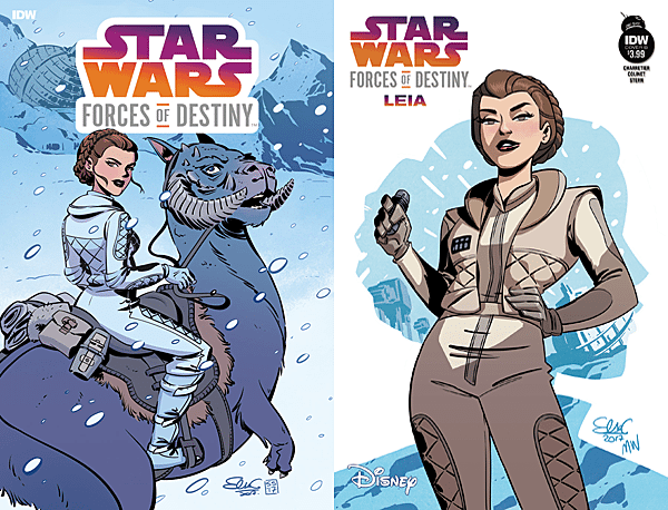Star Wars: Forces of Destiny #1 - Leia, Images: IDW Publishing