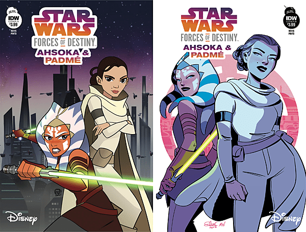 Star Wars: Forces of Destiny #4 - Ahsoka and Padme, Images: IDW Publishing