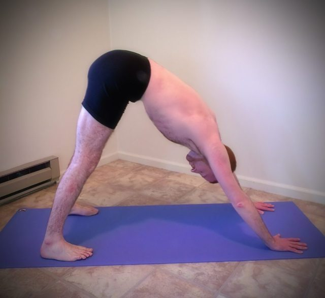 Lonely Mountain Yoga pose