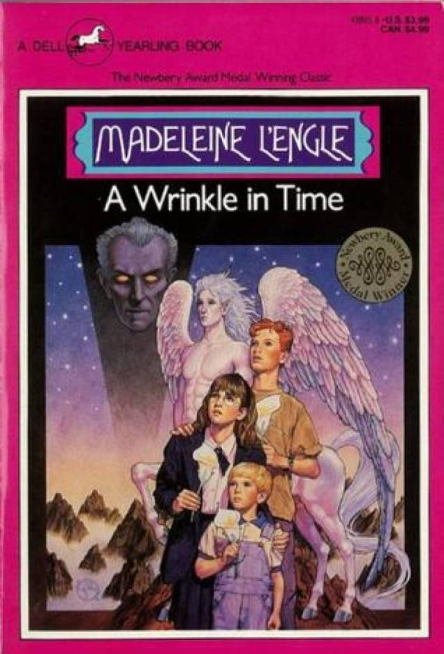 Dell Yearling, 1991 edition of A Wrinkle In Time