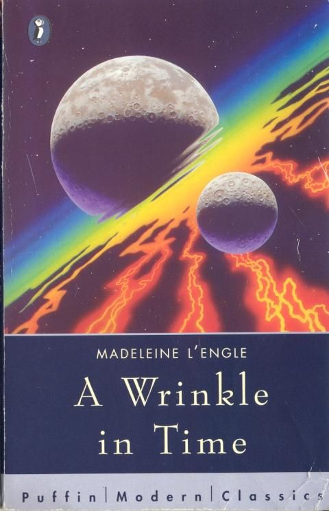 1995 Puffin edition of A Wrinkle In Time