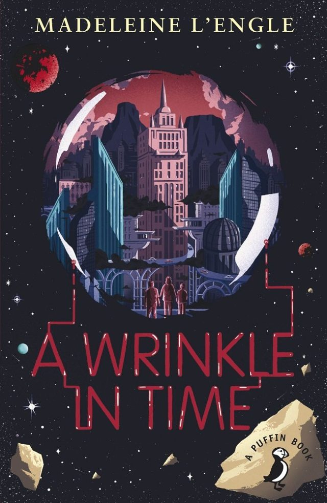 2014 Puffin edition of A Wrinkle In Time