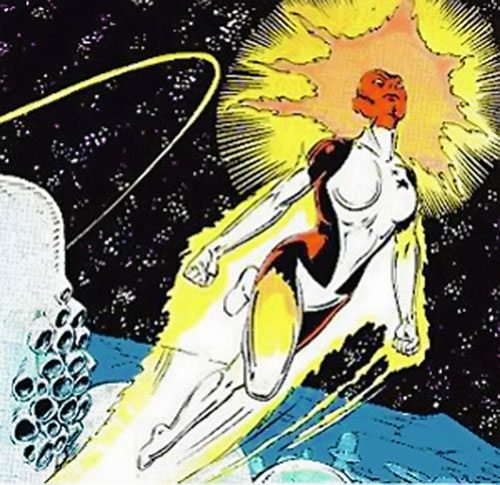 Carol Danvers as Binary, in the X-Men comics