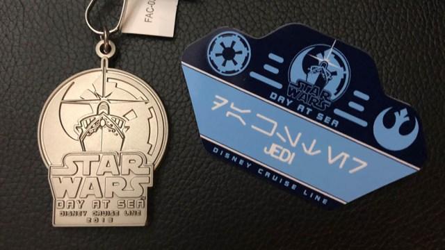 Galactic Transformation Lanyard and Name Tag. Bonus points if you translate the name. \ Image: Dakster Sullivan