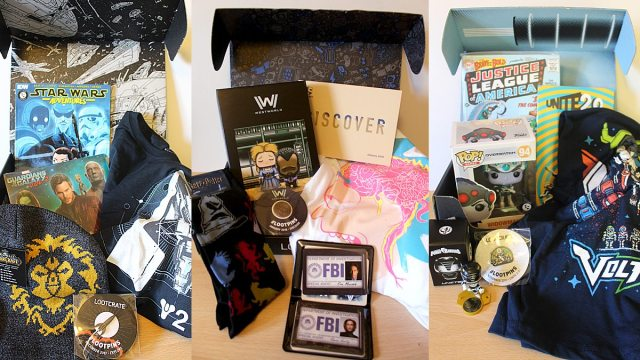 Lootcrate Contents, Image: Sophie Brown