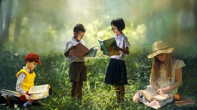 The magic of reading. \ Image Dakster Sullivan