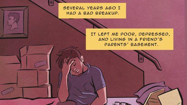 The Secret Loves of Geeks Panel 3, Image: Dark Horse Comics