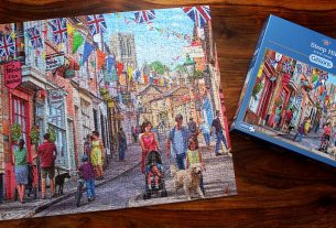 Completed Jigsaw, Image: Sophie Brown