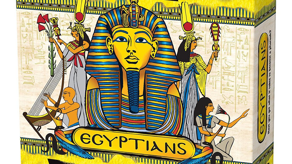 Egyptians, Image: Green Board Games Co.