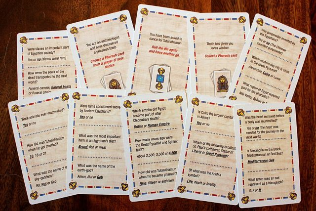Sample Question/Action Cards, Image: Sophie Brown