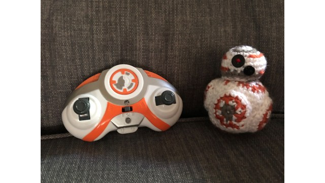 BB-8's controller is not nearly as cute as the BB-8 a friend of mine made me. \ Image: Dakster Sullivan