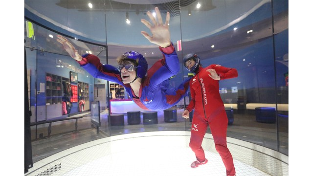 Take flight. \ Image: iFly Orlando