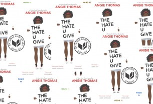 cover image of 'The Hate U Give' as collage
