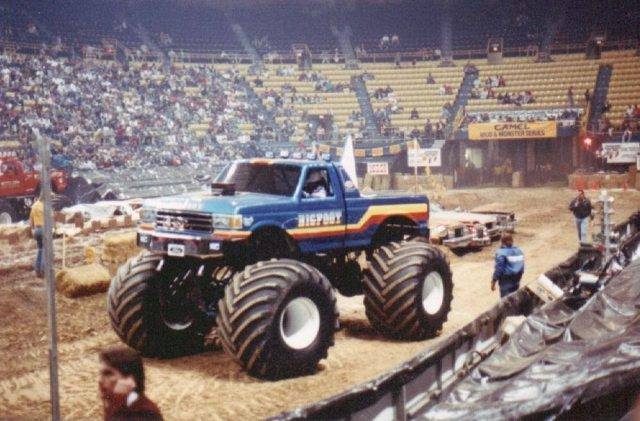monster jam truck bigfoot australia