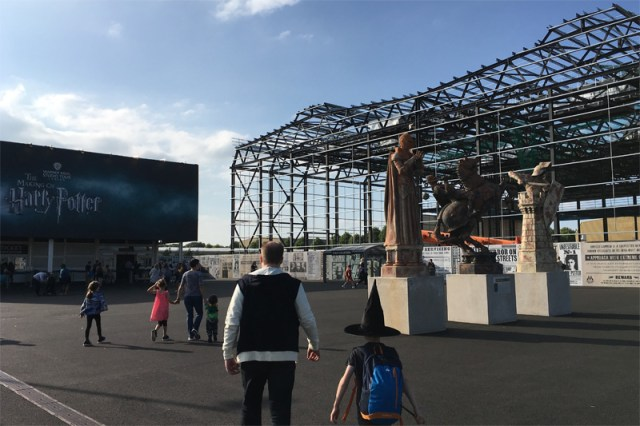 Construction at The Harry Potter Studios Tour, Image: Sophie Brown